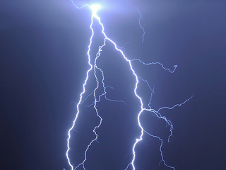 50-year-old woman fatally struck by lightning