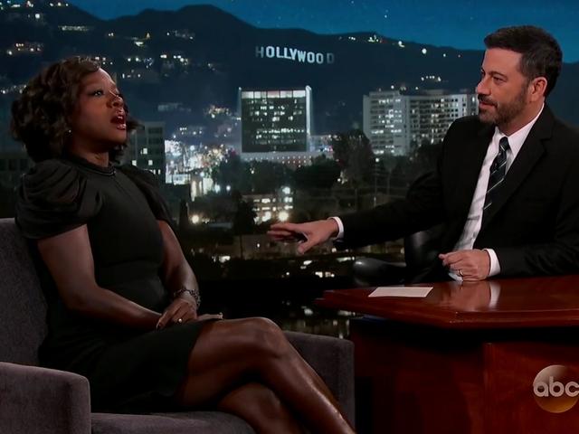 Watch Viola Davis Get Hit By a Bus on Jimmy Kimmel Live