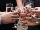 A New Year's Eve champagne toast is good for you