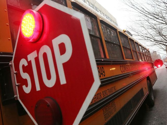 Student arrested, loaded gun & mask found on bus