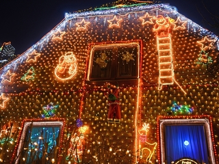 Ways to save money on your holiday lighting
