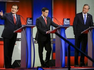 Debate night: Trump to rejoin rivals