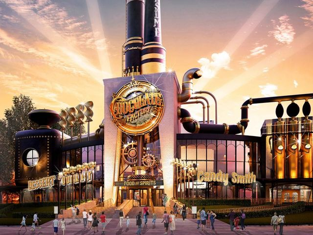 A Willy Wonka-Inspired Restaurant Is Coming To Universal Studios