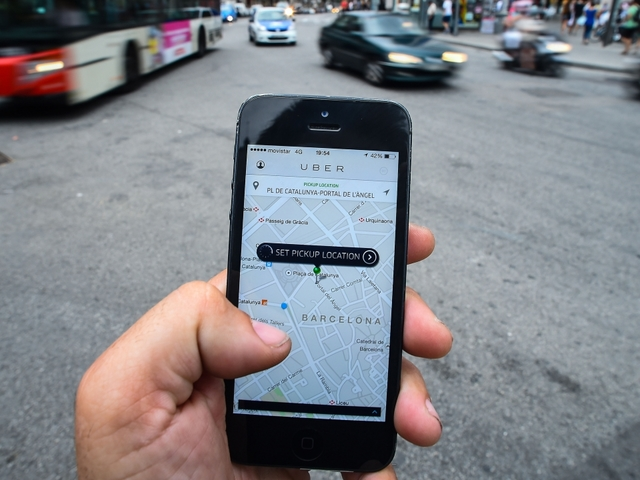 Uber tracking user locations after ride ends