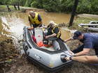 5 dead, 2 missing after floods in Texas, Kansas