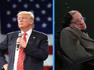 Stephen Hawking calls Donald Trump a demagogue