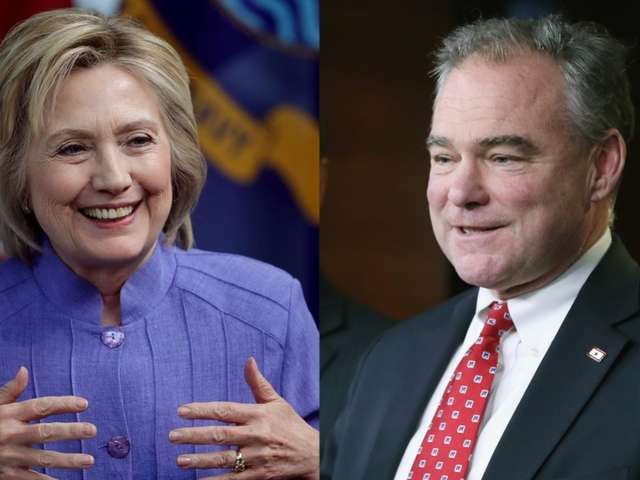 Clinton picks Sen. Tim Kaine as VP pick