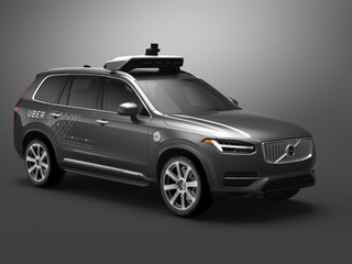 Self-driving Ubers hit the road in Pittsburgh