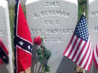Headstone of soldier fixed after 154 years