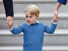 The British royal family tours Canada