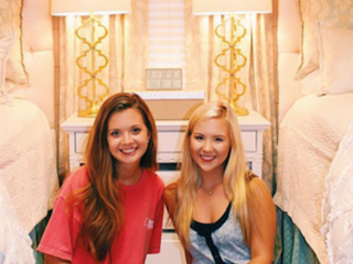 Check out how these freshmen decorate their dorm