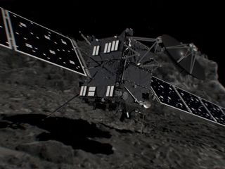 Rosetta comet orbiter ends its mission