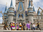 Man, woman try to bring guns into Disney parks