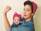 These baby-wearing costumes will melt your heart