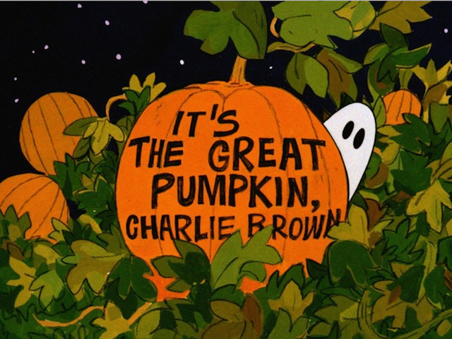 Check out 'It's the Great Pumpkin, Charlie Brown' Wednesday on ABC