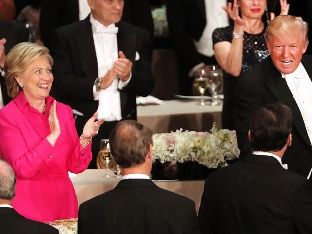 Clinton And Trump Got Pretty Awkward During The Al Smith Dinner