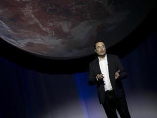SpaceX's Elon Musk elaborates Mars' plan