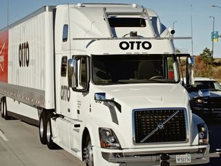 Self-driving beer truck makes first delivery
