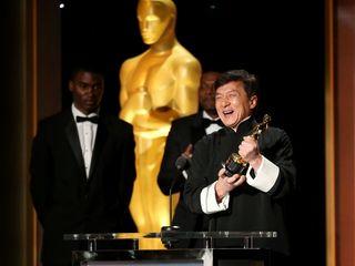 Jackie Chan given honorary Oscar