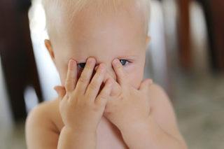 Here's why babies love playing peekaboo