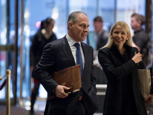 Climate-change-denier may be named to head EPA