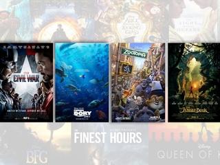 Disney ruled 2016 box office
