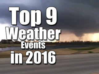 Snowzllla to heat wave: Top 2016 weather events