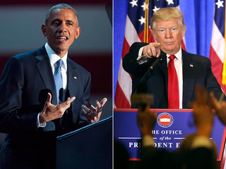 From Obama to Trump, from Mars to Venus