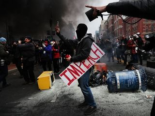 Journalists charged after inauguration unrest