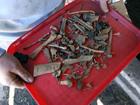 Police break up group smuggling human bones
