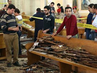 Dozens killed in Egypt Palm Sunday bombings