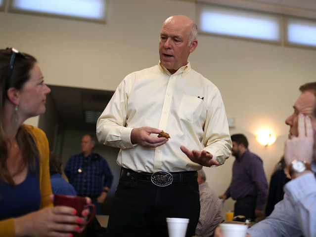Three Montana Newspapers Pull Gianforte Endorsements After Choke-Slam Incident