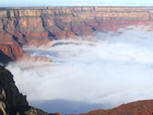 Grand Canyon's clouds are breathing