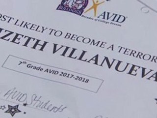 7th grader voted 'Most Likely to Be a Terrorist'