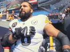 NFL player stands alone for anthem