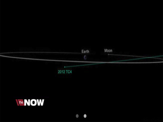 Asteroid passing closer than the moon
