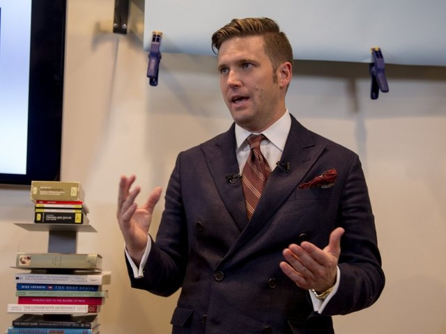 Richard Spencer speaks at University of Florida