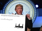 Trump signed letter resigning from his companies