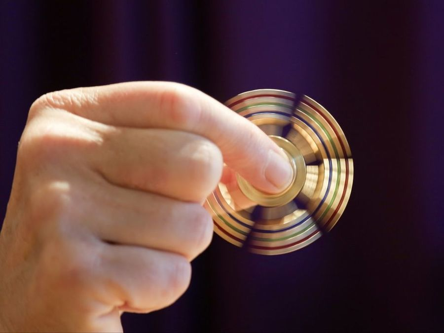 Popular fid spinner toy poses danger to young children