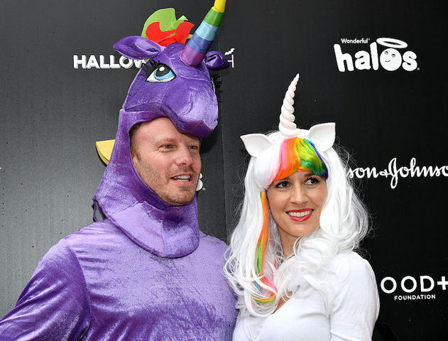 Beautiful Actor Ian Ziering And Erin Kristine Ludwig Attend The First Ever GOOD+  Foundation Halloween Bash Hosted Jessica Seinfeld At Sunset Gower Studios  On October ...