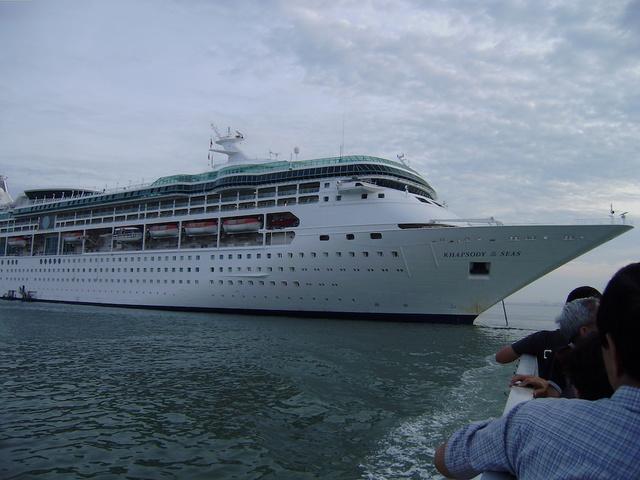 Royal Caribbean Sends Cruise Ship To Help Puerto Rico - Cruise ship cam