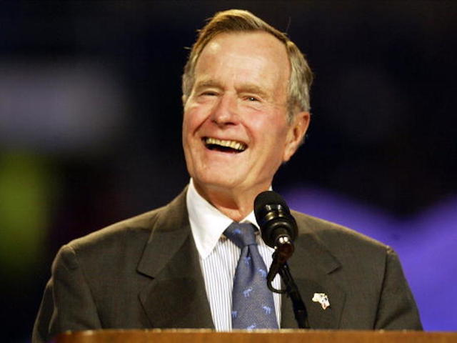 Woman accuses George HW Bush of groping her during the 1992 campaign