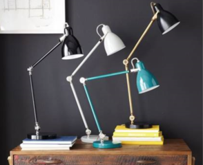 Table lamps recalled due to shock hazard