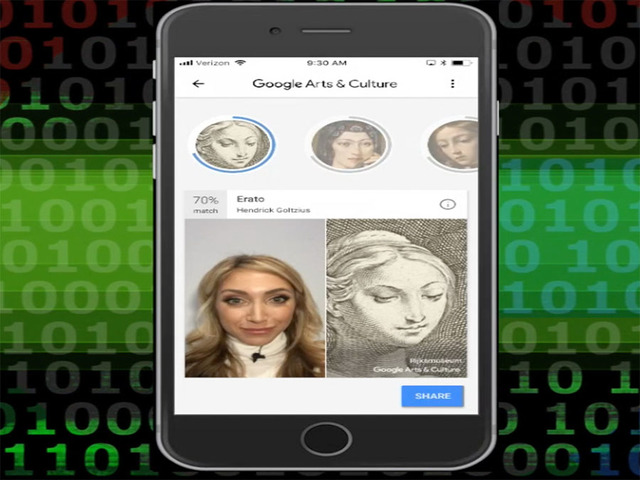 Popular new feature on Google app matches your face with famous painting