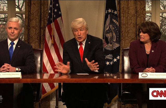 Alec Baldwin Returns To Tackle White House Turmoil And More From 'SNL'