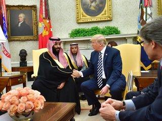 Saudi prince visits US