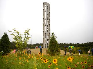 Monument celebrates Flight 93 victims