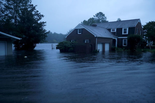 Image result for hurricane florence 2018, september 15
