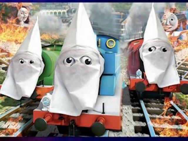 NRA TV Depicts Thomas Friends Characters In KKK Hoods