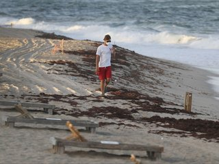 Hurricane Michael Shifts Red Tide Toward Coast